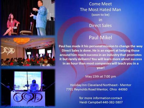 Come meet OHD Founder, Paul Mikel!